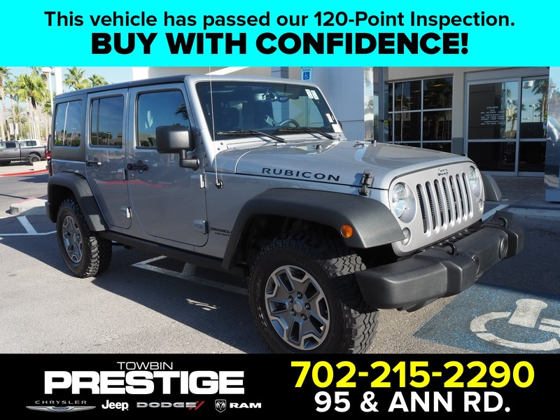 Pre-Owned 2015 JEEP WRANGLER UNLIMITED