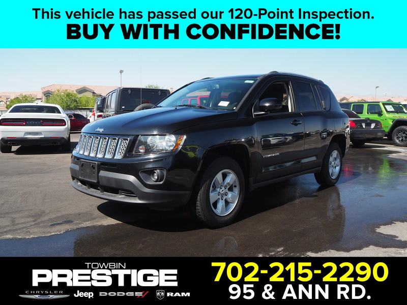 Pre Owned 2017 Jeep Compass Latitude 5dr In Las Vegas Pu8337