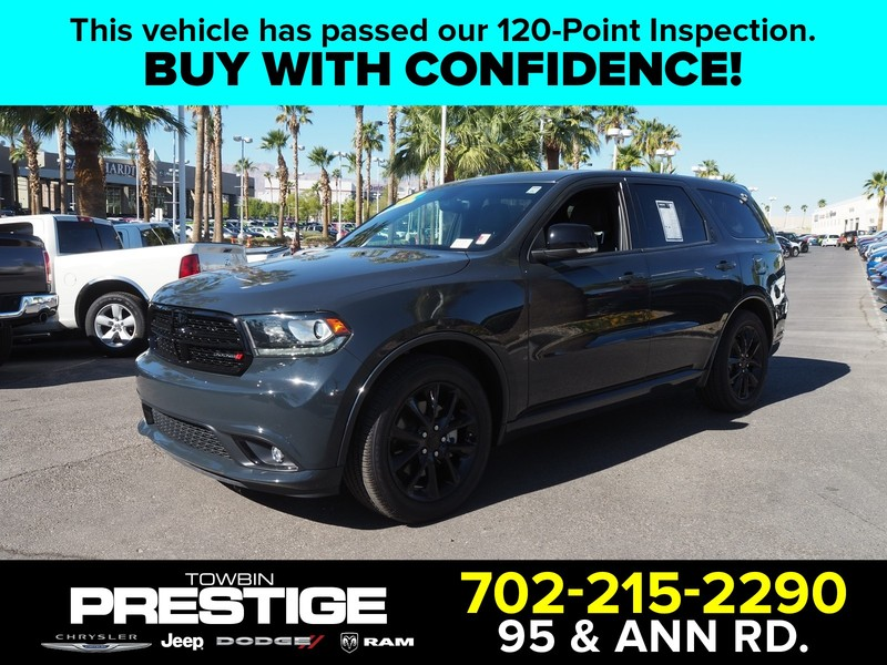 Pre-Owned 2017 DODGE DURANGO R/T RWD