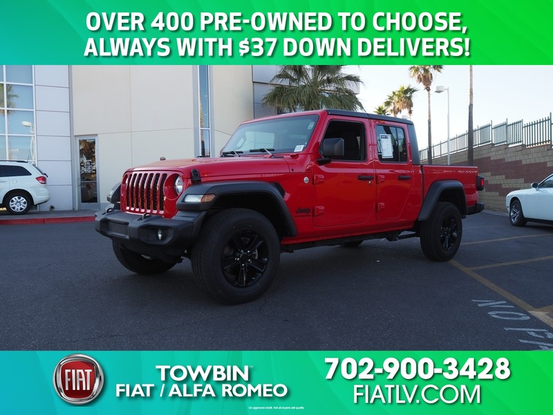 Pre-Owned 2020 JEEP GLADIATOR SPORT S 4X4