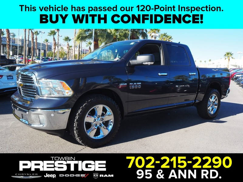 Pre-Owned 2018 RAM 1500 BIG HORN 4X2 CREW CAB 5'7
