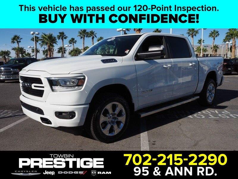 Pre-Owned 2019 RAM 1500 BIG HORN 4X4 CREW CAB 5'7