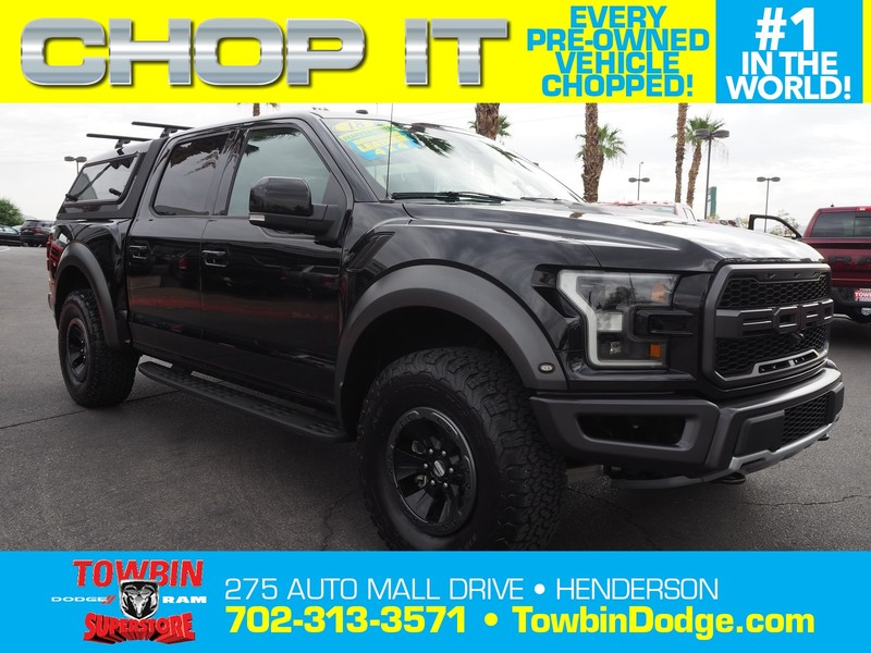 Pre-Owned 2018 FORD F-150 RAPTOR 4X4