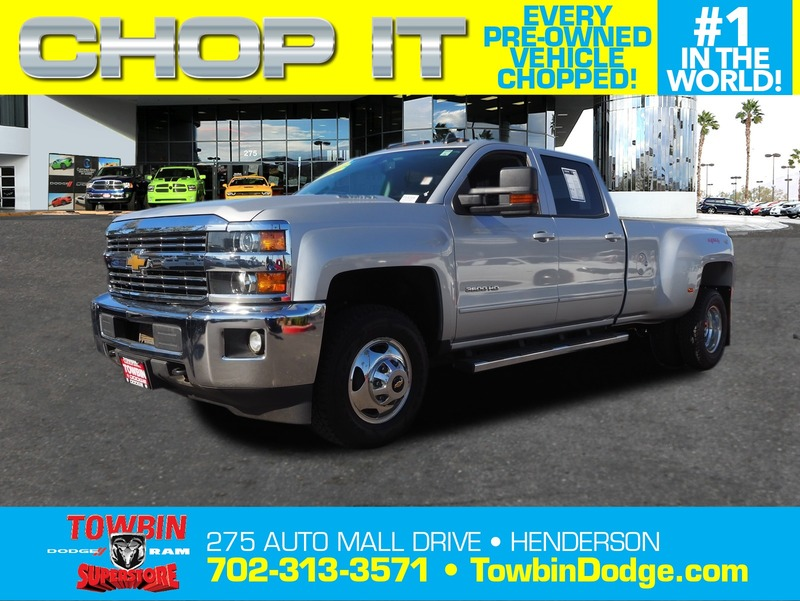 Pre-Owned 2015 CHEVROLET SILVERADO 3500 HD 4X4