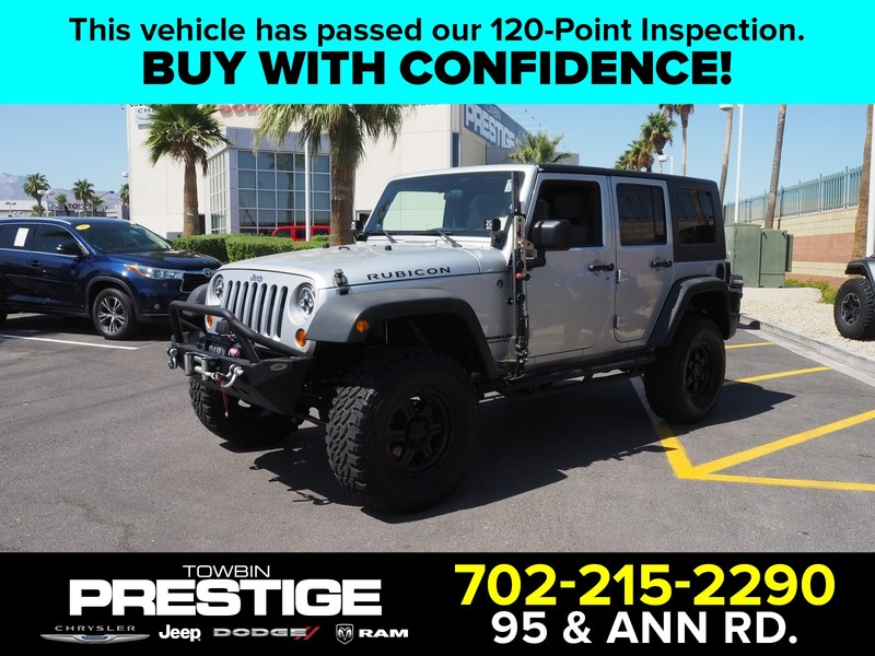 Pre-Owned 2010 JEEP WRANGLER UNLIMITED