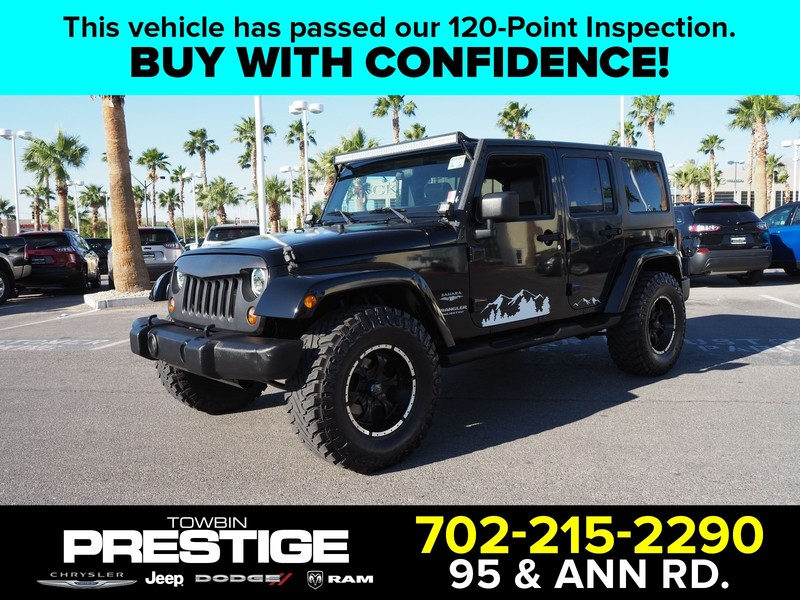 Pre-Owned 2007 JEEP WRANGLER 2WD 4DR UNLIMITED SAHARA