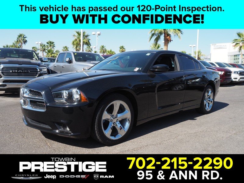 Pre-Owned 2014 DODGE CHARGER 4DR SDN SXT RWD