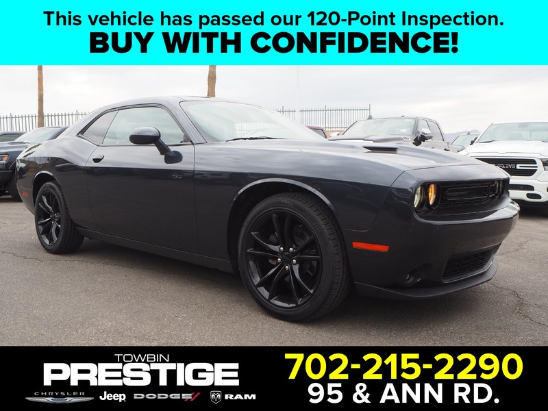 Pre-Owned 2016 DODGE CHALLENGER 2DR CPE SXT