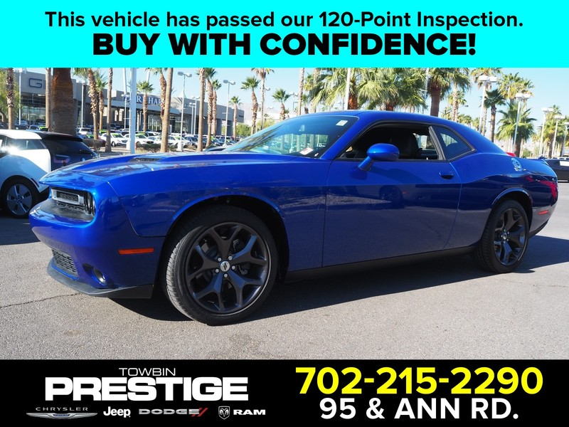 Pre-Owned 2018 DODGE CHALLENGER SXT PLUS RWD