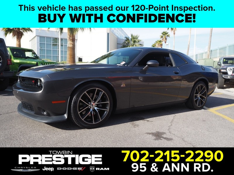 Pre-Owned 2018 DODGE CHALLENGER R/T SCAT PACK RWD