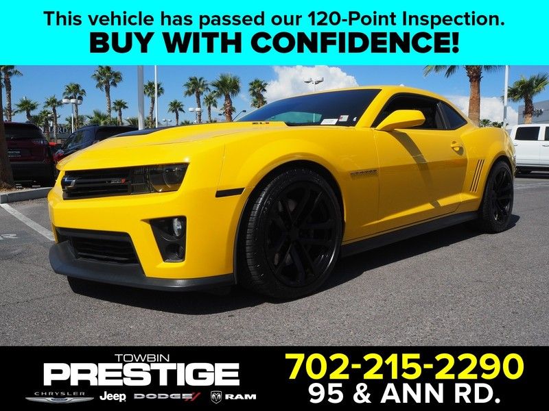 Pre-Owned 2013 CHEVROLET CAMARO 2DR CPE ZL1