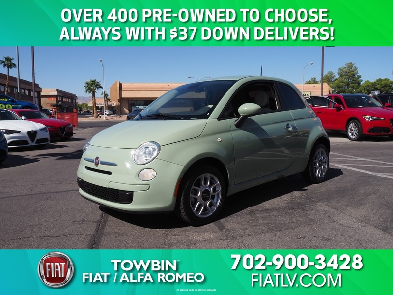 Fiat 500 Pop >> Pre Owned 2015 Fiat 500 Pop Front Wheel Drive 3dr
