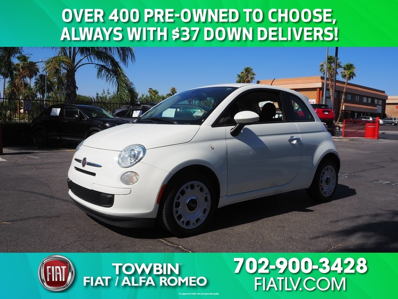 Pre-Owned 2016 FIAT 500 2DR HB POP