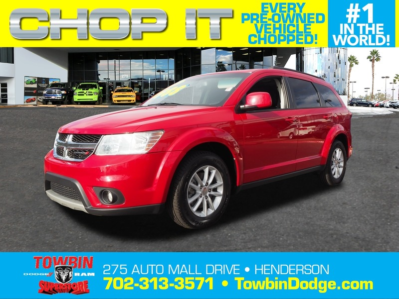 Pre-Owned 2013 DODGE JOURNEY SXT POPULAR