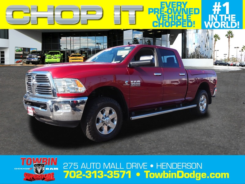 Pre-Owned 2015 RAM 3500 BIG HORN 4X4