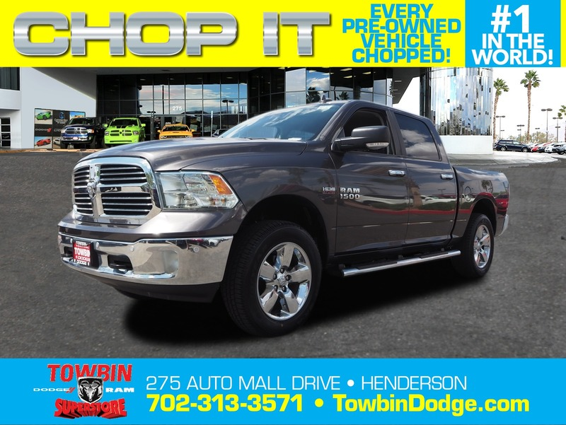 Pre-Owned 2016 RAM 1500 BIG HORN 4X4