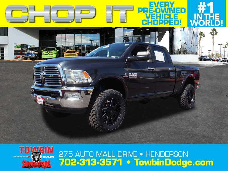 Pre-Owned 2017 RAM 2500 BIG HORN OFF-ROAD