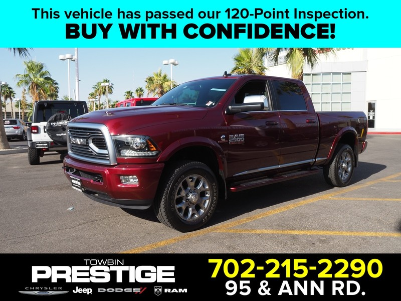 Pre-Owned 2018 RAM 2500 LIMITED 4X4 CREW CAB 6'4