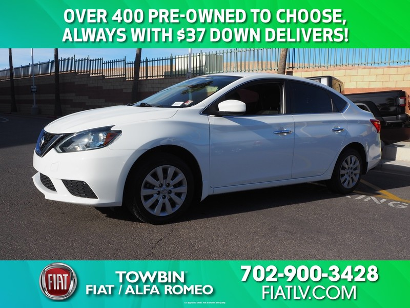 Pre-Owned 2016 NISSAN SENTRA 4DR SDN I4 CVT S