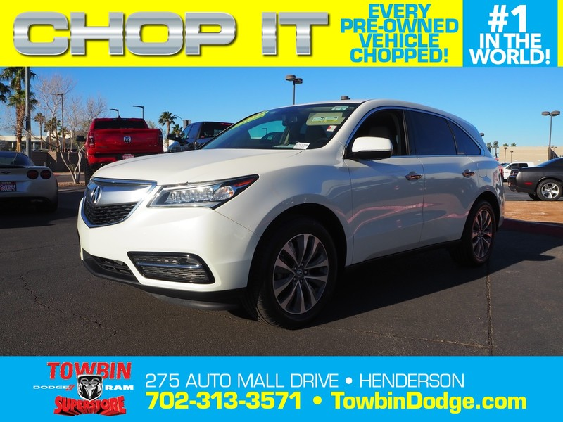 Pre-Owned 2014 Acura MDX TECHNOLOGY