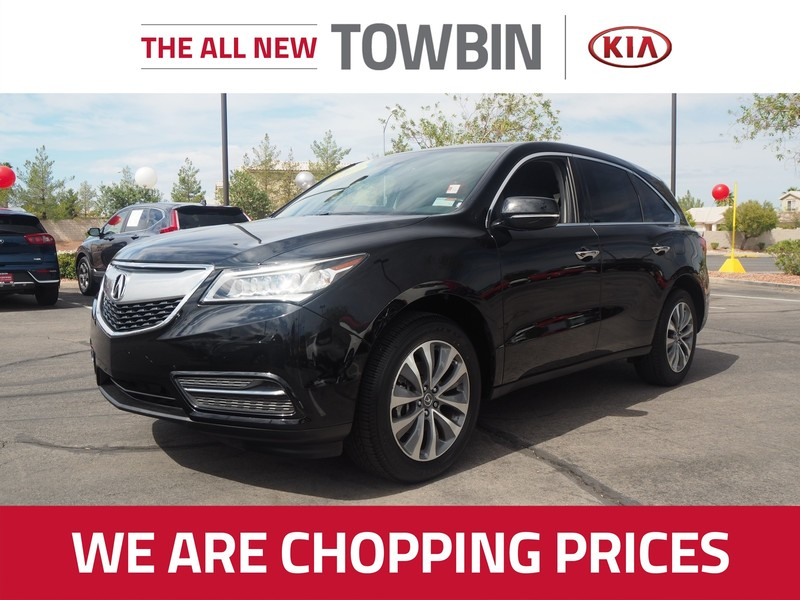 Pre-Owned 2016 Acura MDX TECH