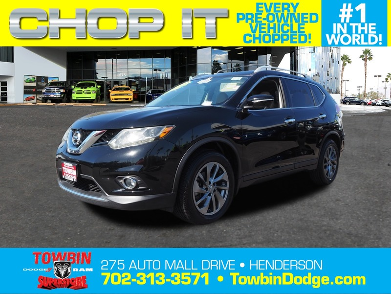 Pre-Owned 2015 NISSAN ROGUE SL PREMIUM