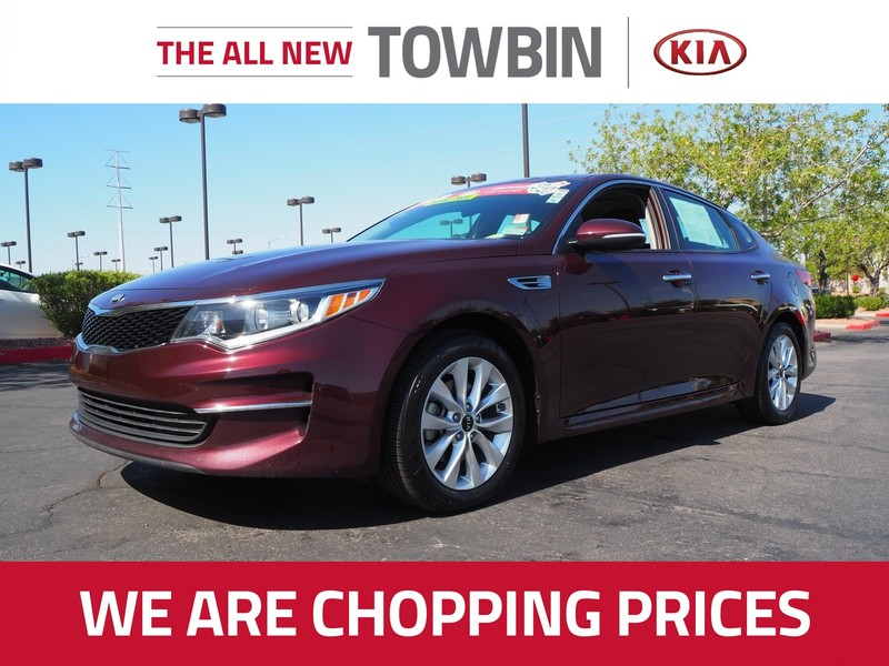 Pre-Owned 2017 KIA OPTIMA LX 2.4