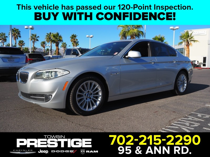 Pre-Owned 2013 BMW 5 SERIES 4DR SDN 535I RWD