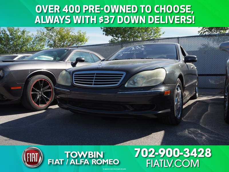 Pre-Owned 2001 MERCEDES-BENZ S-CLASS S 500