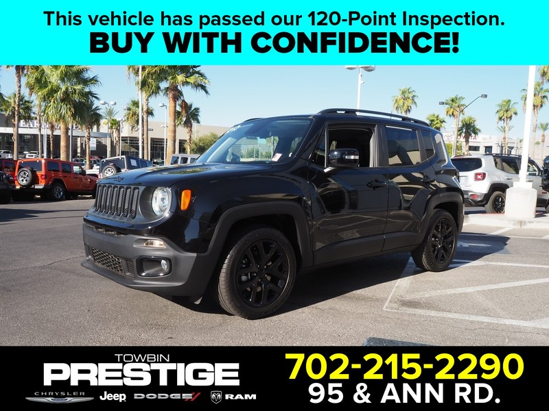 Pre-Owned 2018 JEEP RENEGADE ALTITUDE FWD