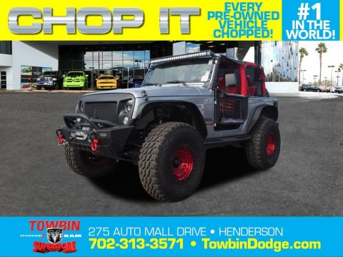 Pre-Owned 2015 JEEP WRANGLER SPORT B 4X4