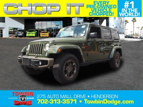 Pre-Owned 2016 JEEP WRANGLER UNLMTED SAHARA