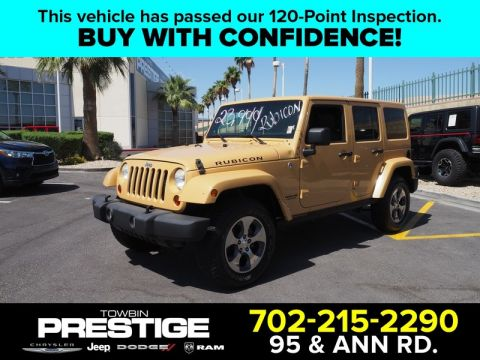 Pre-Owned 2013 JEEP WRANGLER UNLIMITED
