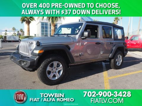 Pre-Owned 2018 JEEP WRANGLER UNLIMITED