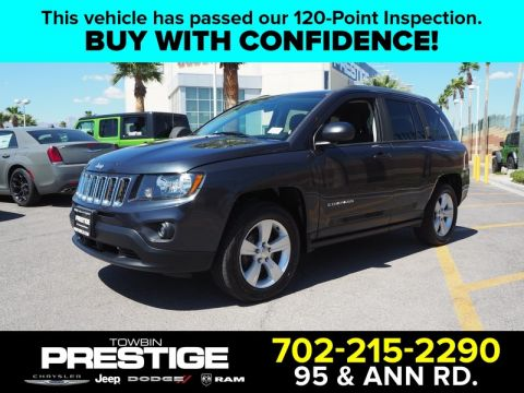 Pre-Owned 2014 JEEP COMPASS 4WD 4DR SPORT