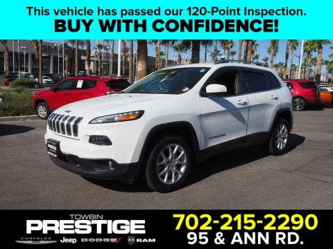 Pre-Owned 2014 JEEP CHEROKEE FWD 4DR LATITUDE