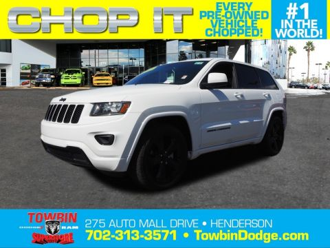 Pre-Owned 2015 JEEP GRAND CHEROKEE LAREDO E 4X4