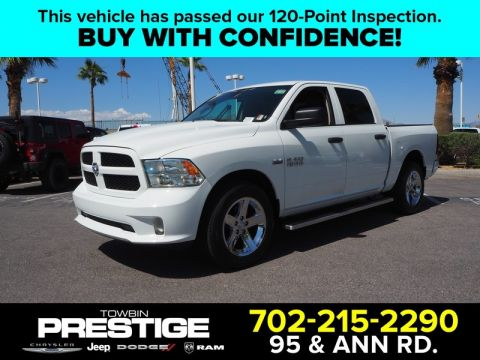 Pre-Owned 2017 RAM 1500 EXPRESS 4X2 CREW CAB 5'7