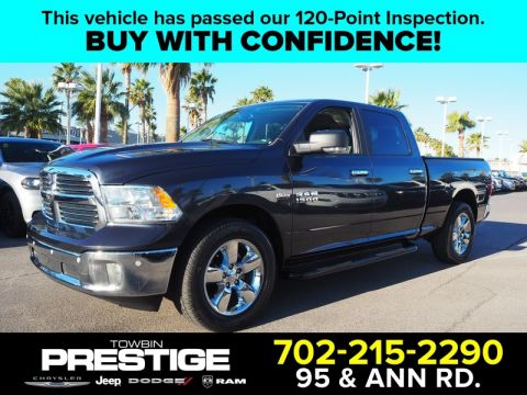Pre-Owned 2017 RAM 1500 BIG HORN 4X2 CREW CAB 6'4