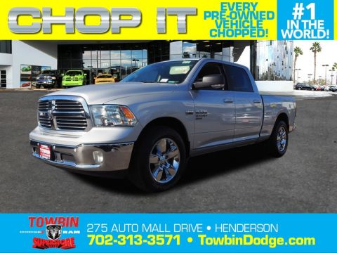 Pre-Owned 2019 RAM 1500 CLASSIC BIG HORN 4X4