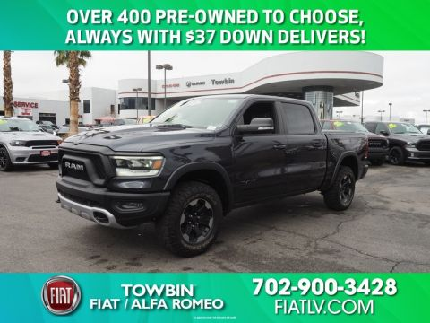 Pre-Owned 2019 RAM 1500 REBEL 4X4