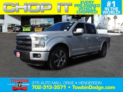 Pre-Owned 2015 FORD F-150 LARIAT TECH