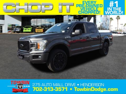 Pre-Owned 2018 FORD F-150 XL