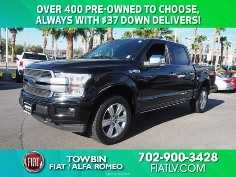 Pre-Owned 2018 FORD F-150 PLATINUM TECH