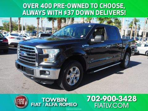 Pre-Owned 2015 FORD F-150 XLT FX4 SPORT