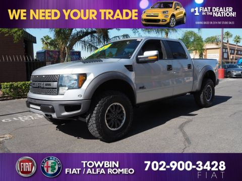 Pre-Owned 2011 FORD F-150 SVT RAPTOR 4X4
