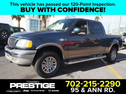 Pre-Owned 2003 FORD F-150 SUPERCREW 139