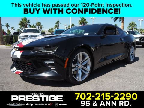 Pre-Owned 2016 CHEVROLET CAMARO 2DR CPE SS W/2SS