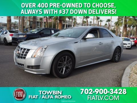Pre-Owned 2013 CADILLAC CTS SEDAN 3.0 LUXURY
