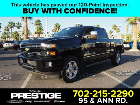 Pre-Owned 2015 CHEVROLET SILVERADO 2500 HD